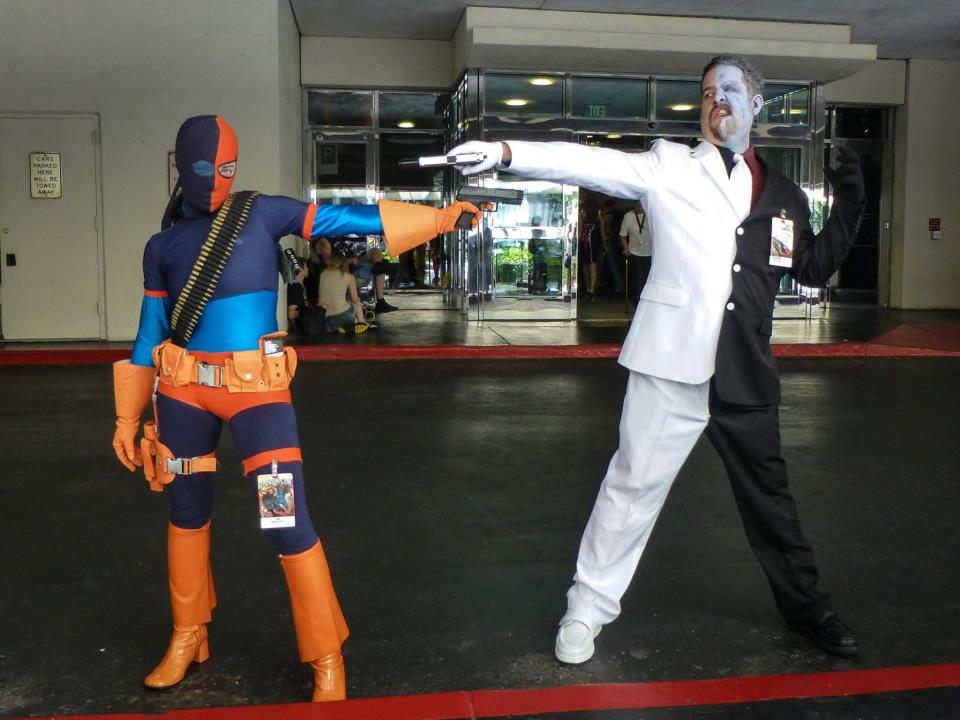 Deathstroke and Two-Face faceoff & Deathstroke and Two-Face faceoff u2013 The Geek Forge